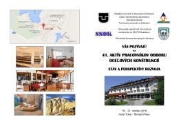 slovenská spoločnosť pre oceľové konštrukcie pri zsvts bratislava