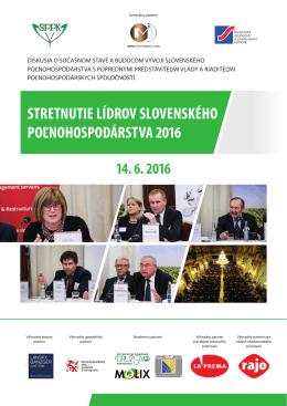 stretnutie lídrov slovenského poľnohospodárstva
