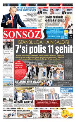 8 - Sonsöz Gazetesi