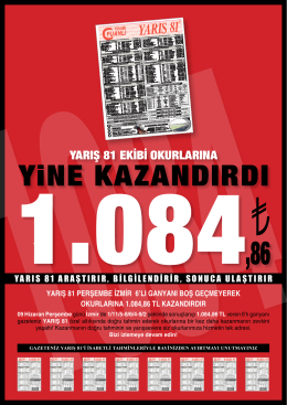 YiNE KAZANDIRDI
