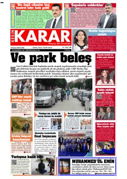 10 haziran 2016_Kesin Karar Gazetesi