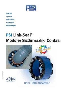 PSI Link-Seal® Modüler Sızdırmazlık Contası