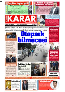 11 Haziran 2016 - Kesin Karar Gazetesi