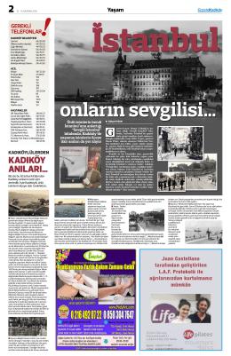 Yaşam - gazete kadıköy