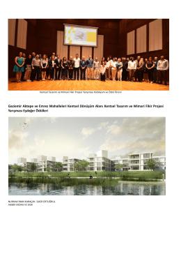 Aktepe - Emrez Kentsel Dönüşüm ve Gelişim Alanı Ulusal Proje