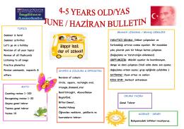 Buzzy Bees - İngilizce anaokulu kosuyolu