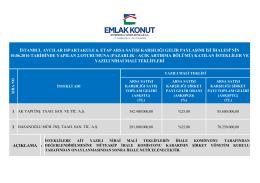 istanbul avcılar ıspartakule 6. etap arsa satışı karşılığı gelir paylaşımı