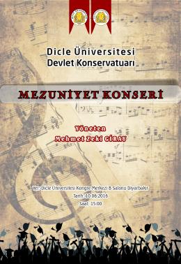 afiş ve bilgi - Dicle Üniversitesi
