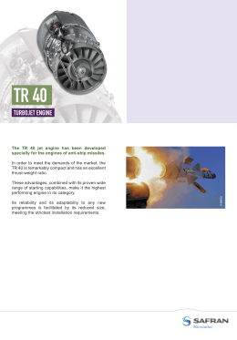 TR 40 Product Sheet