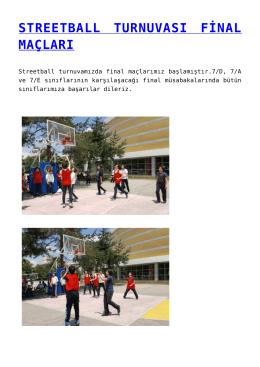 streetball turnuvası final maçları