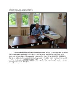 Müdür Yardımcısı-Pansiyon - TRABZON / TONYA