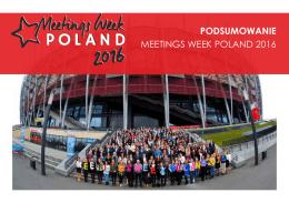 Pobierz podsumowanie - Meetings Week Poland 2016