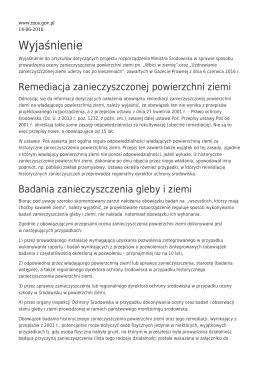 Zapisz do PDF - Ministerstwo Środowiska