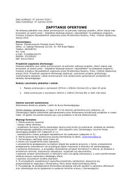 plik w formacie pdf do pobrania - Rudzkie Konto Pomocy w Rudzie