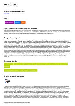 Wersja PDF - Katalog Rozwiązań