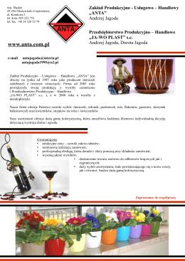 katalog metaloplstyki - Anta