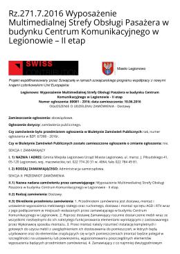 Wersja PDF - Biuletyn Informacji Publicznej Urzędu Miasta Legionowo