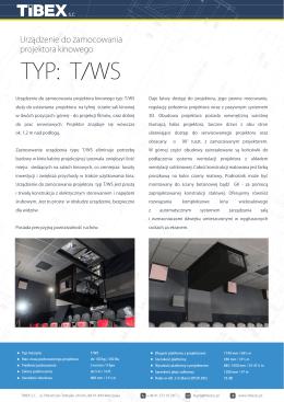 TYP: T/WS - Tibex sc