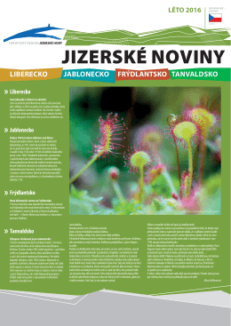 Jizerské noviny léto 2016 (1.48 MB, Jizerské noviny 2016 léto CZ