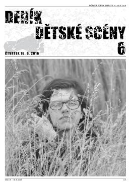 ČTVRTEK 16. 6. 2016