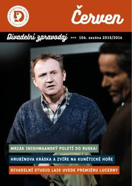 ZPRAVODAJ červen 2016 - Východočeské divadlo Pardubice