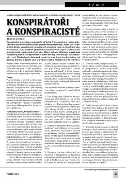 Konspirátoři a konspiracisté