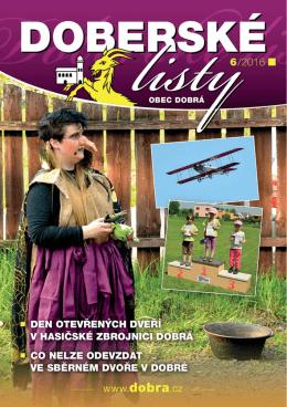 Doberské listy - červen 2016