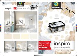 Primalex Inspiro - promo materiály