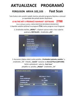 aktualizace programů