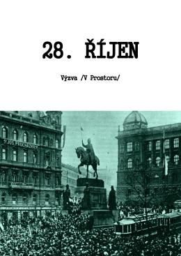 Výzva k výročí založení Československa