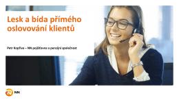 prezentace NN pojišťovna