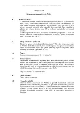 Metodický list - Česká národní banka