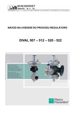 dival 507 – 512 – 520 - 522