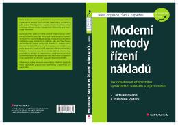 Moderní metody řízení nákladů (Ukázka)