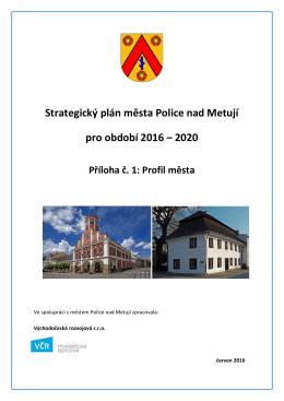 Strategický plán - Město Police nad Metují