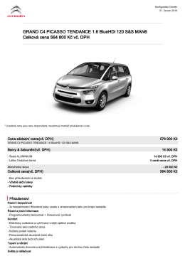 GRAND C4 PICASSO TENDANCE 1.6 BlueHDi 120