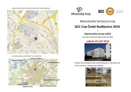 QCC Cup České Budějovice 2016
