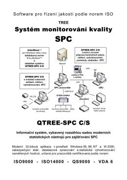 Systém monitorování kvality QTREE