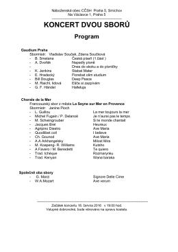 Program - gaudium