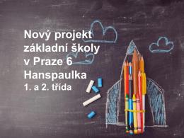 nová škola krátká prezentace