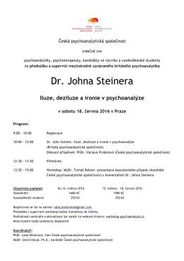Dr. Johna Steinera