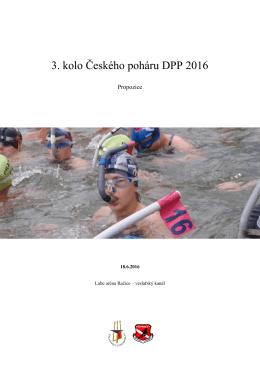 3. kolo Českého poháru DPP 2016