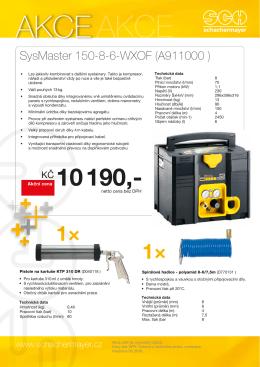 AKCE SCHNEIDER kompresor SysMaster
