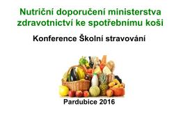 (metodika) ke spotřebnímu koši pro praxi školních jídelen