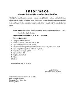 ZM - Informace o konání ZM (003)