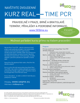 KURZ REAL TIME PCR