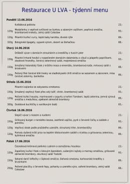 Restaurace U LVA