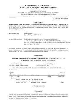 odročení dražby viz 158c