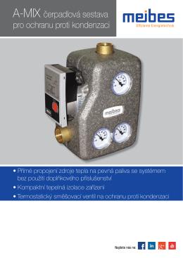A-MIX čerpadlová sestava pro ochranu proti kondenzaci