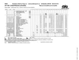 411130 - Cheb - Plesná - Autobusy Karlovy Vary as